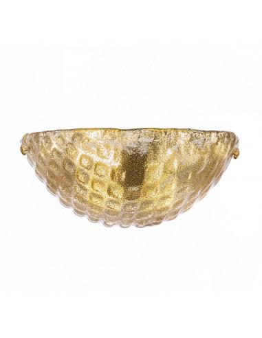 Perla Oro - Applique en cristal de...