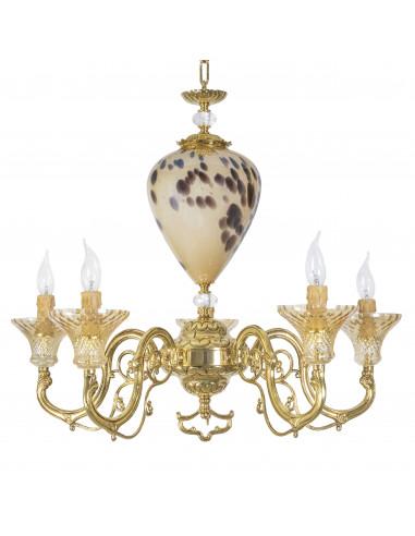 Birmingham- Baroque chandelier in...