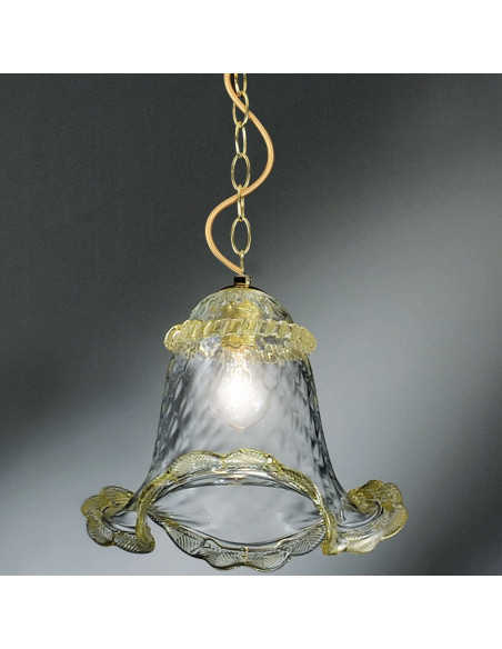 Calle lampe à suspension