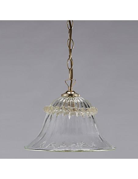 Suspension classique en verre de Murano modèle Belzoni