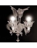 applique classique en verre de Murano modèle Casanova
