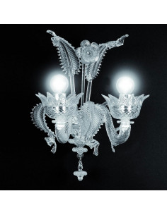 classic Murano glass wall light model Muranese