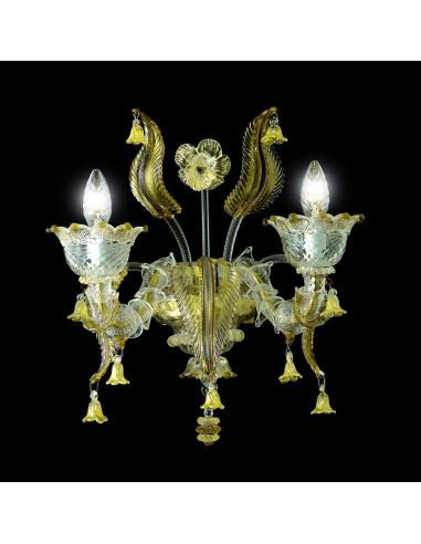 applique classique en verre de Murano modèle Veronese