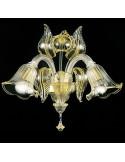 Applique classica in vetro di murano modello Tiziano