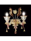 Applique classique en verre de Murano modèle Visconti