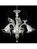 Classic Murano glass chandelier Tiziano model