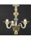 lampadario in vetro di murano modello Tiepolo