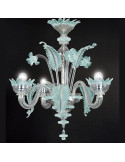 Lustre vénitien classique, modèle muranais