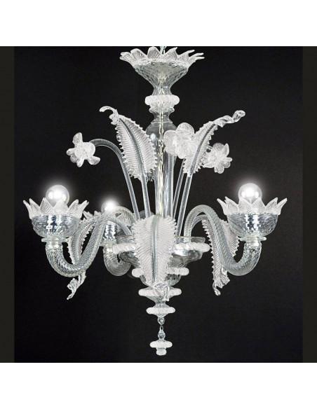 Classic Venetian chandelier, Muranese model
