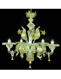 Murano chandelier Monticelli model