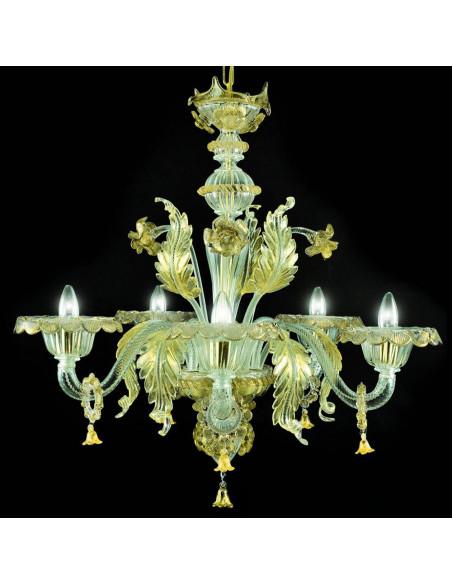 Lampadario di Murano modello Monticelli
