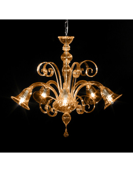 Gentile Murano glass chandelier