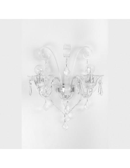 Des appliques en verre de Murano, mod: Haute de l'Eau