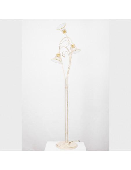 Lampe de plancher en verre de Murano, le mod:le Tintoret