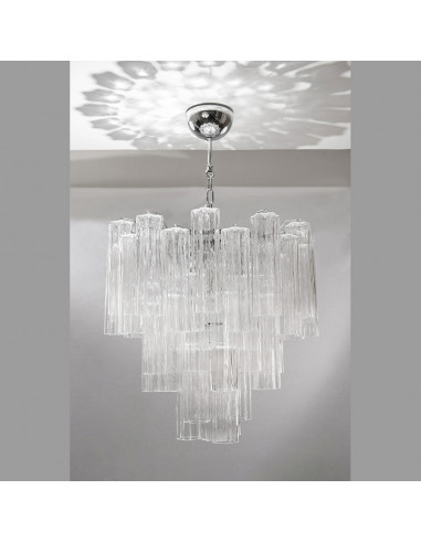 Murano glass chandelier mod: Polar Star