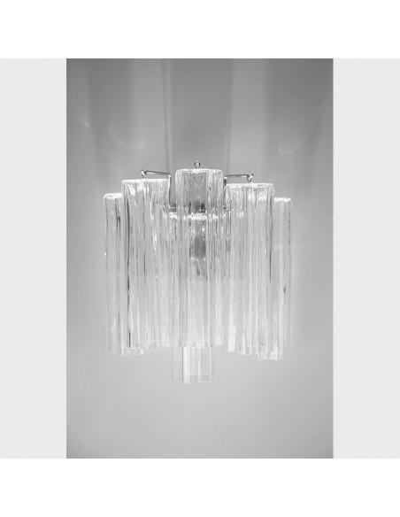 Des appliques en verre de Murano, le mod: Étoile Polaire