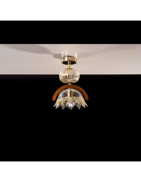 la lumière du Plafond avec un Bâton