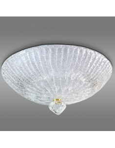 Murano glass ceiling light, model model Linea Rugiada