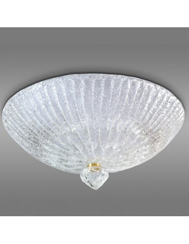 Murano glass ceiling light, model model Linea Rugiada