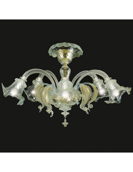 Ca' Venier gold (ceiling light)
