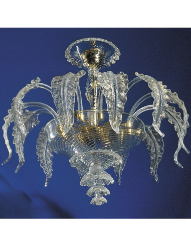 Ceiling Light in Murano glass Elegant model