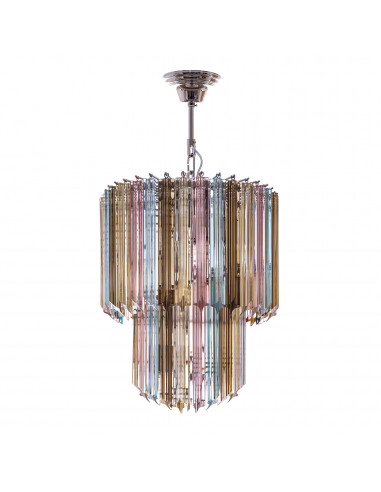 Bliss - Quadriedri Chandelier italian...